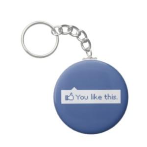 Facebook Keychain
