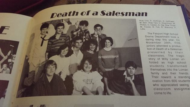 death of a salesman yearbook