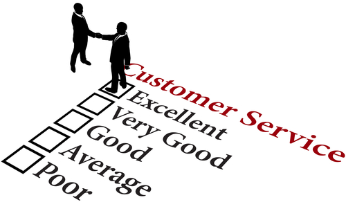 Business relationship excellent customer service