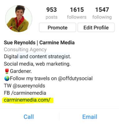 Carmine Media Instagram